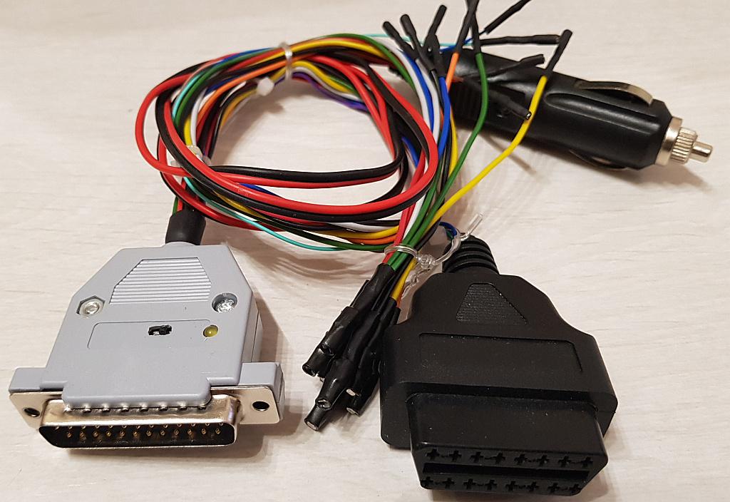 Универсальный кабель + CAN