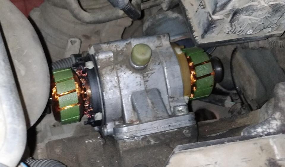 Mitsubishi Colt,проблема с роботом. Ошибка P1828